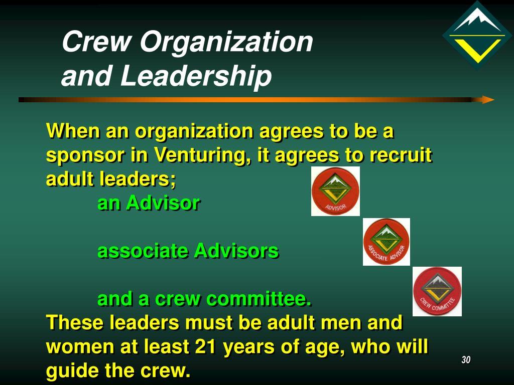 Crew Organization