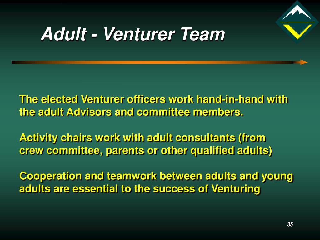Adult - Venturer Team
