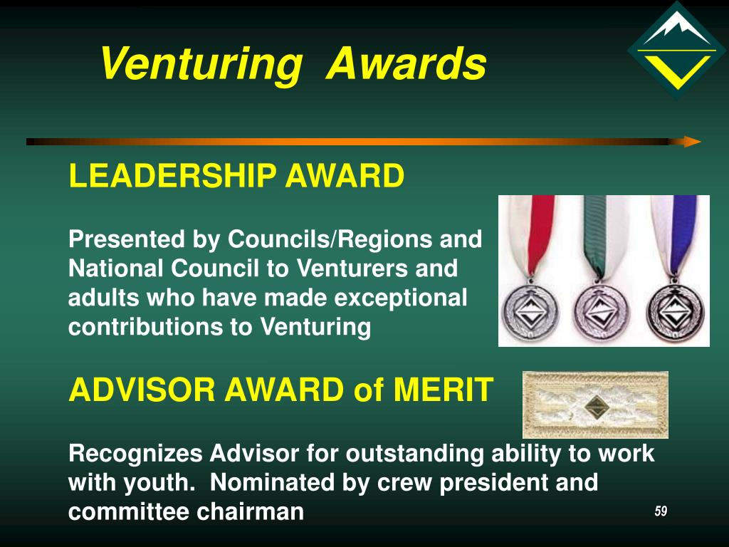 Venturing  Awards