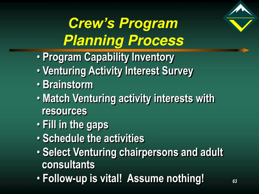 Crew's Program