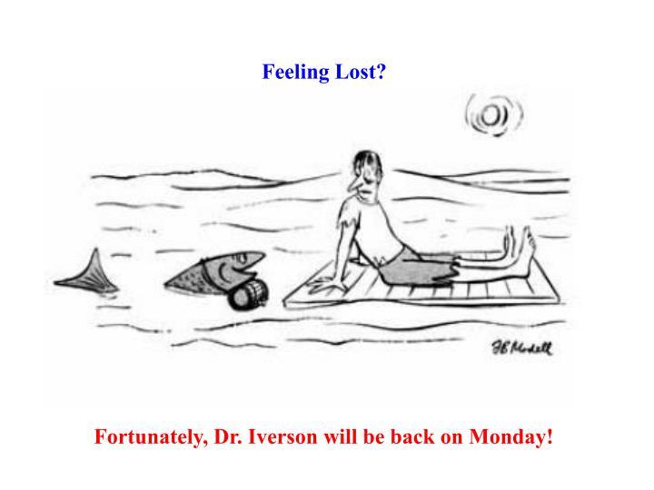 Feeling Lost?