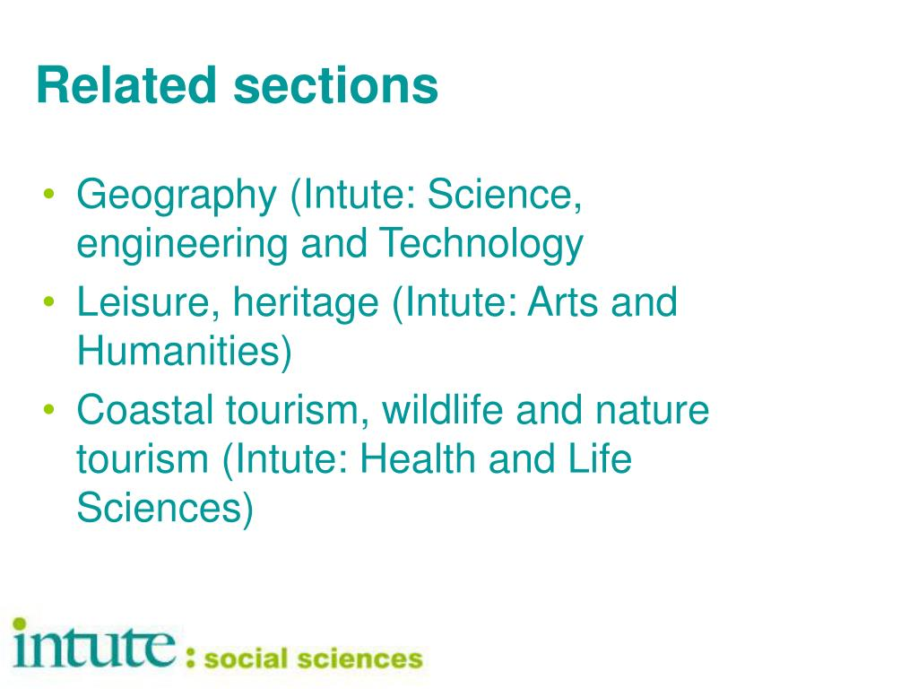 Related sections