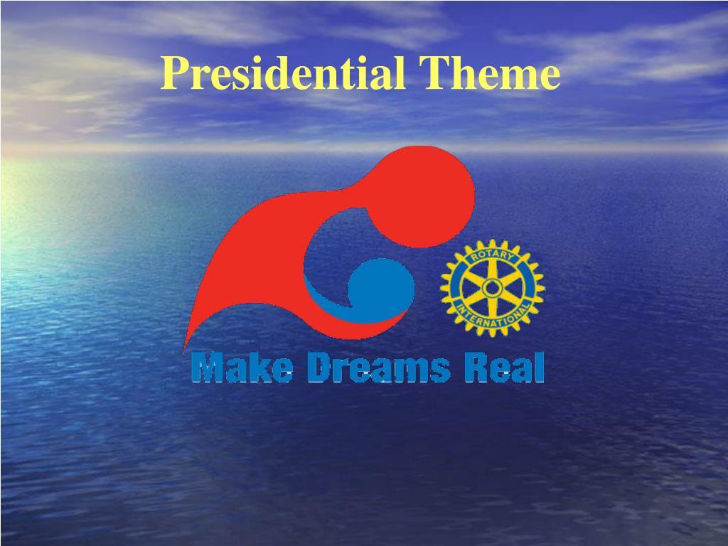 Presidential Theme