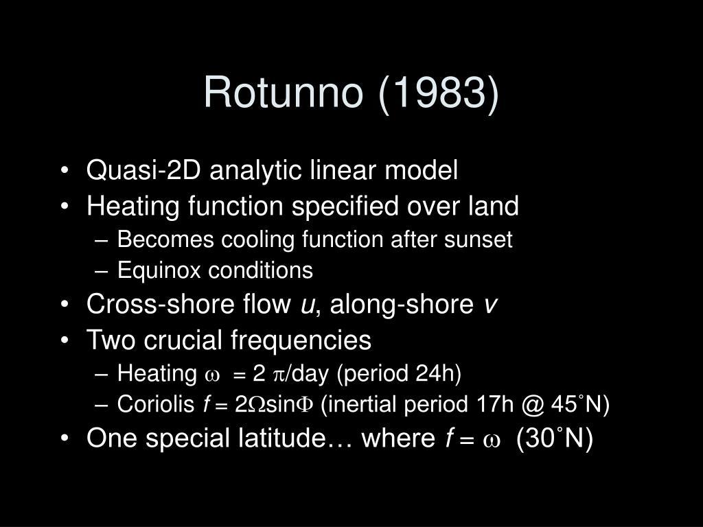 Rotunno (1983)
