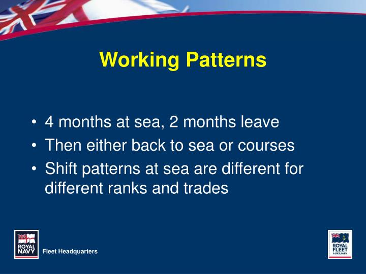 Working Patterns