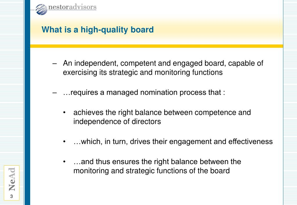 What is a high-quality board