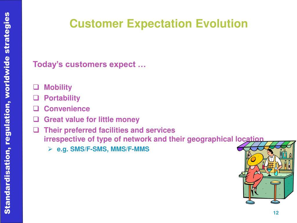 Customer Expectation Evolution