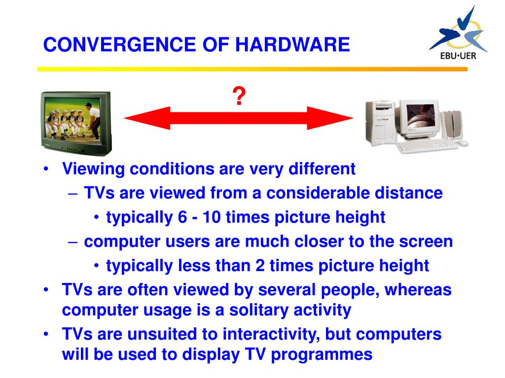 CONVERGENCE OF HARDWARE