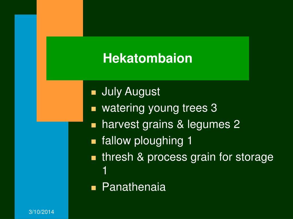 Hekatombaion