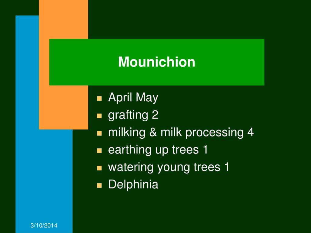 Mounichion