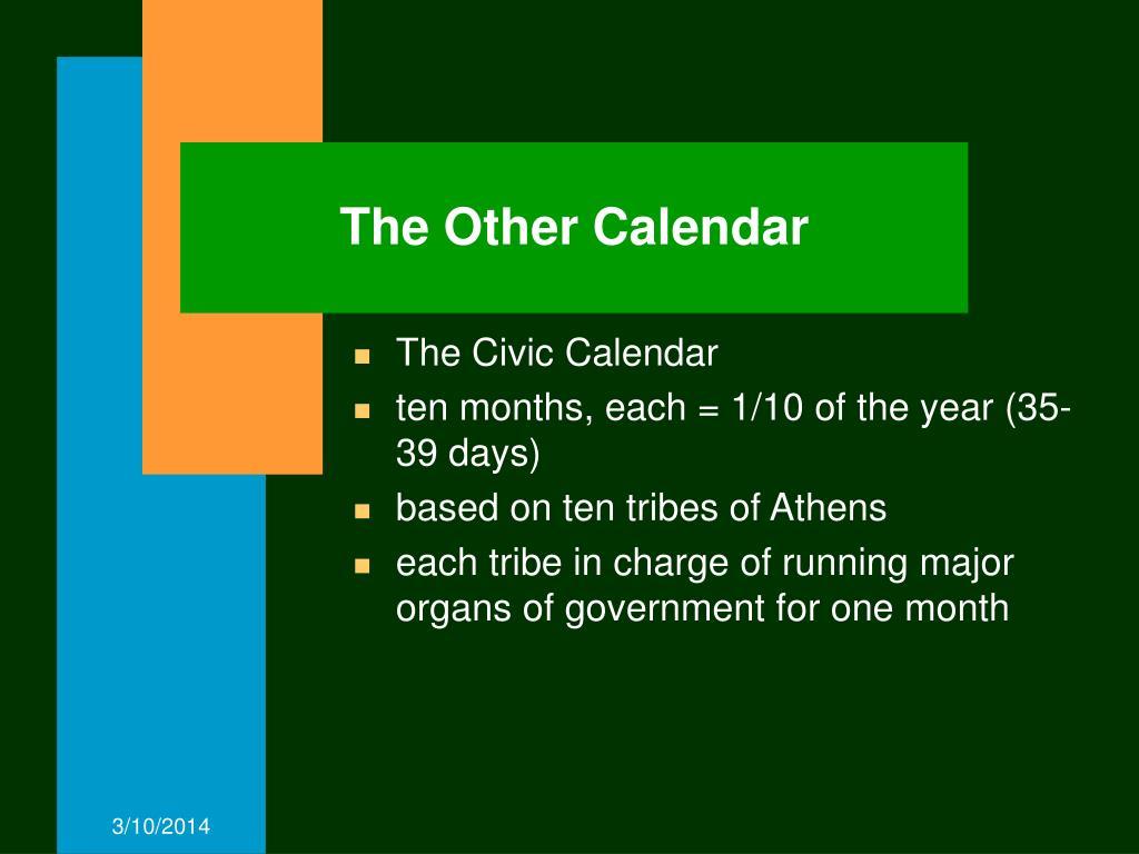 The Other Calendar