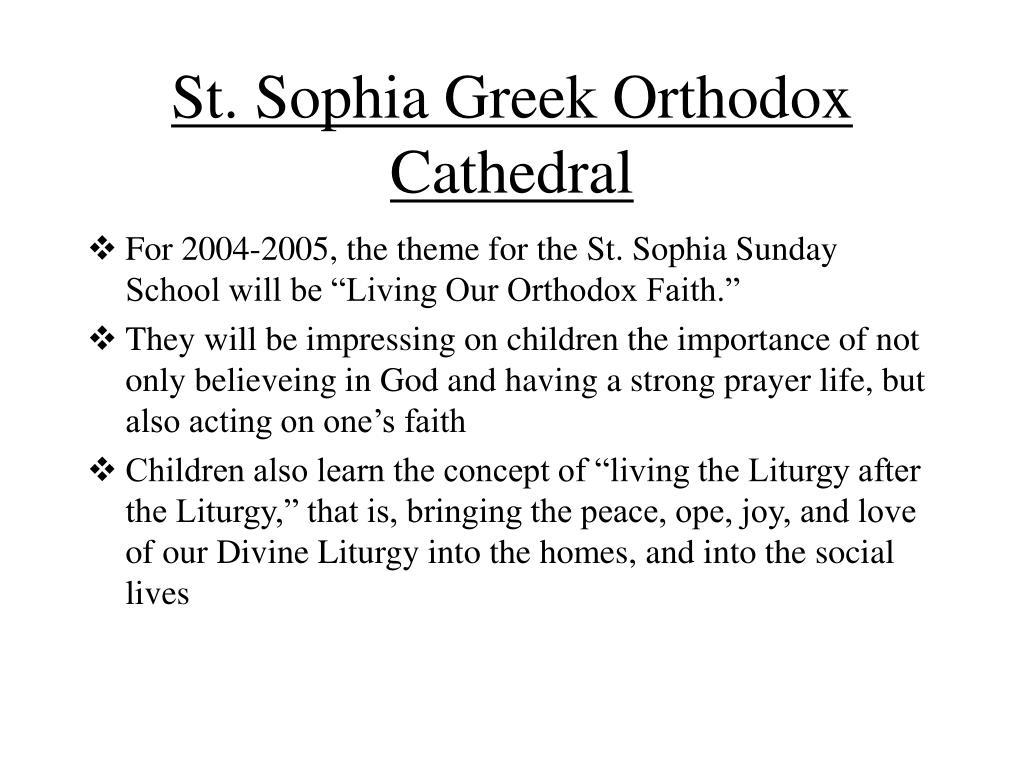St. Sophia Greek Orthodox Cathedral