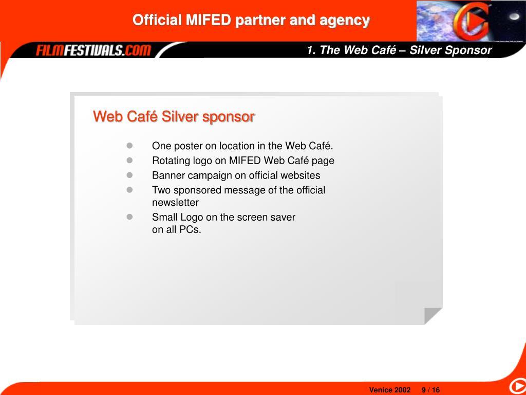 1. The Web Café – Silver Sponsor