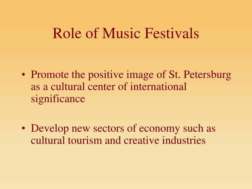 Role of Music Festivals