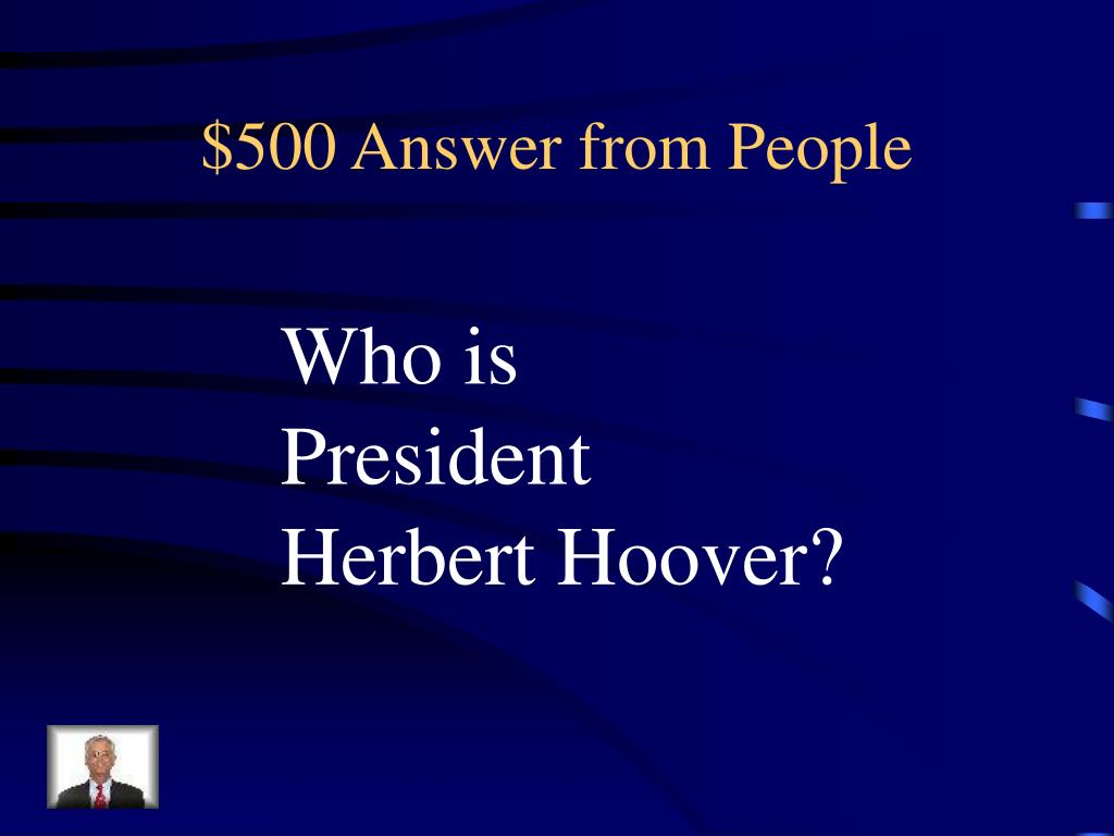 $500 Answer from People