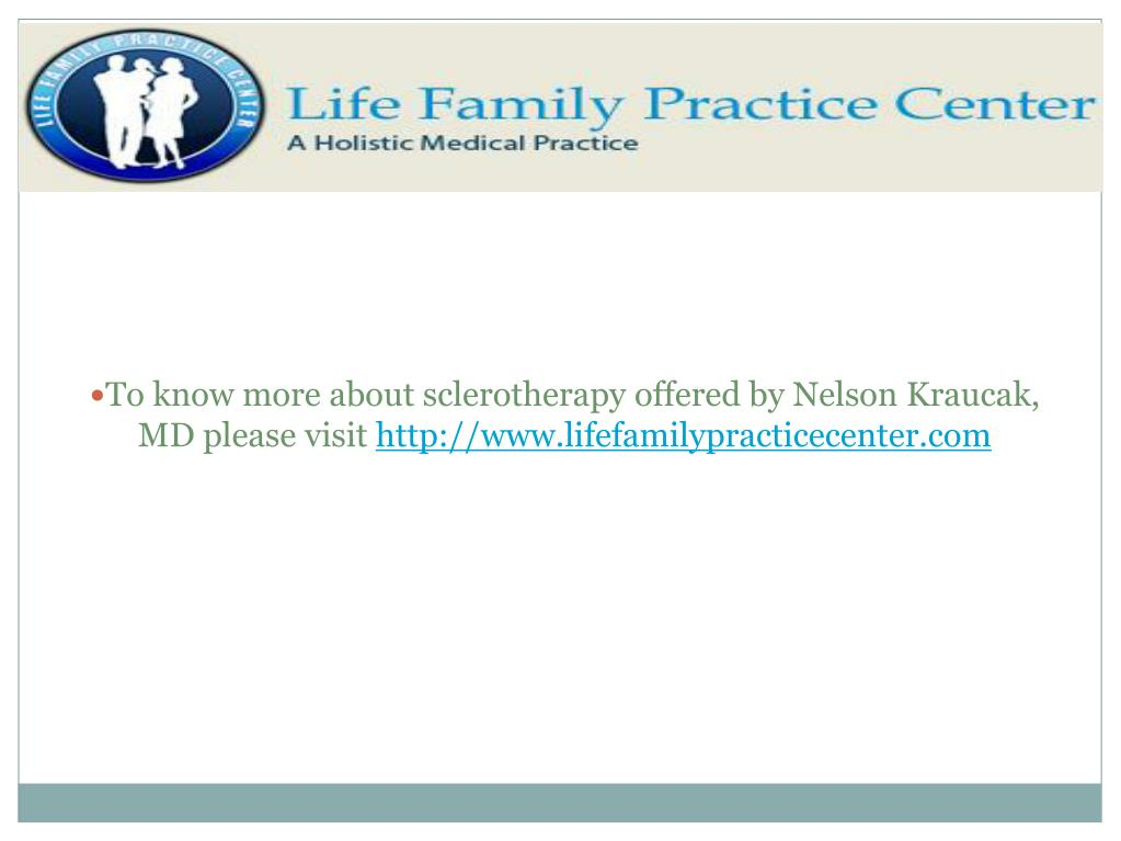 To know more about sclerotherapy offered by Nelson