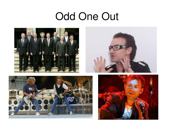 Odd One Out