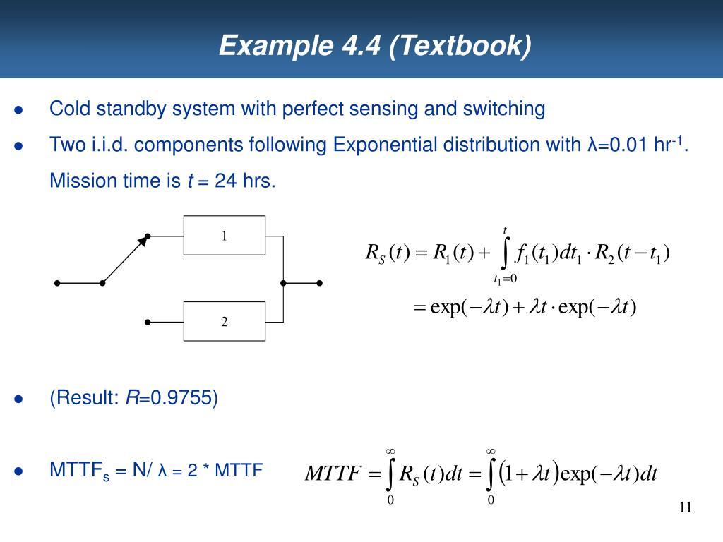 Example 4.4 (Textbook)
