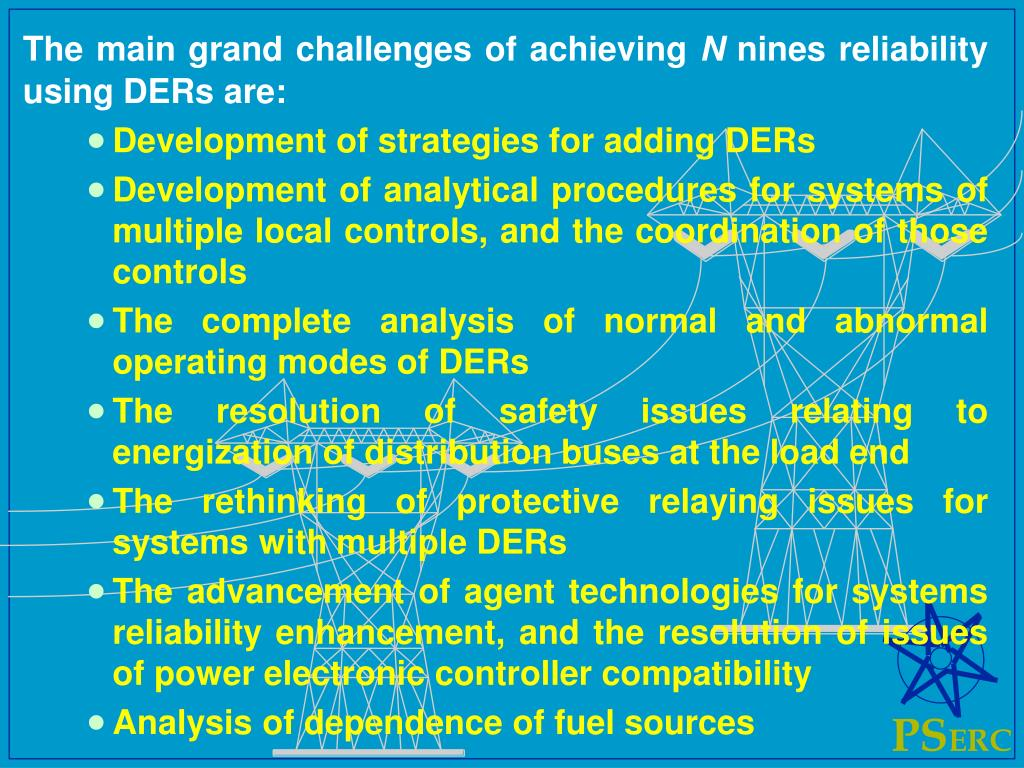 The main grand challenges of achieving