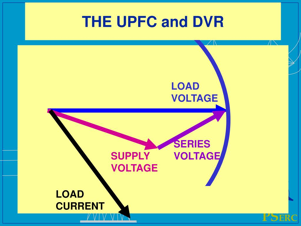 THE UPFC and DVR