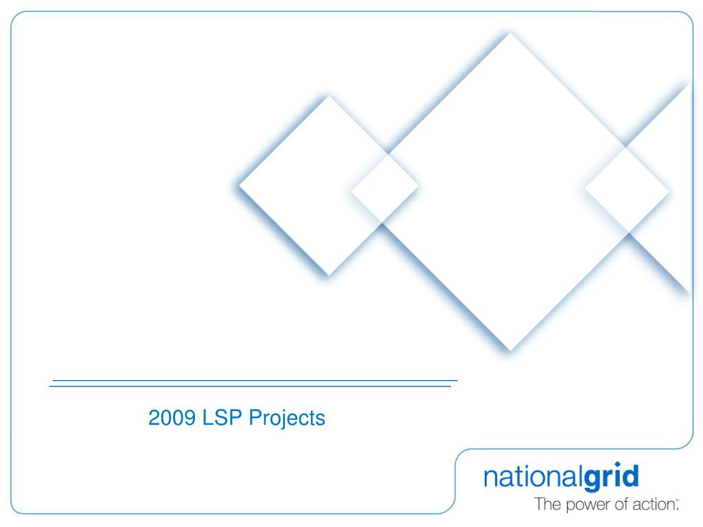 2009 LSP Projects