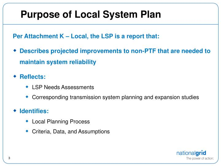 Purpose of local system plan l.jpg