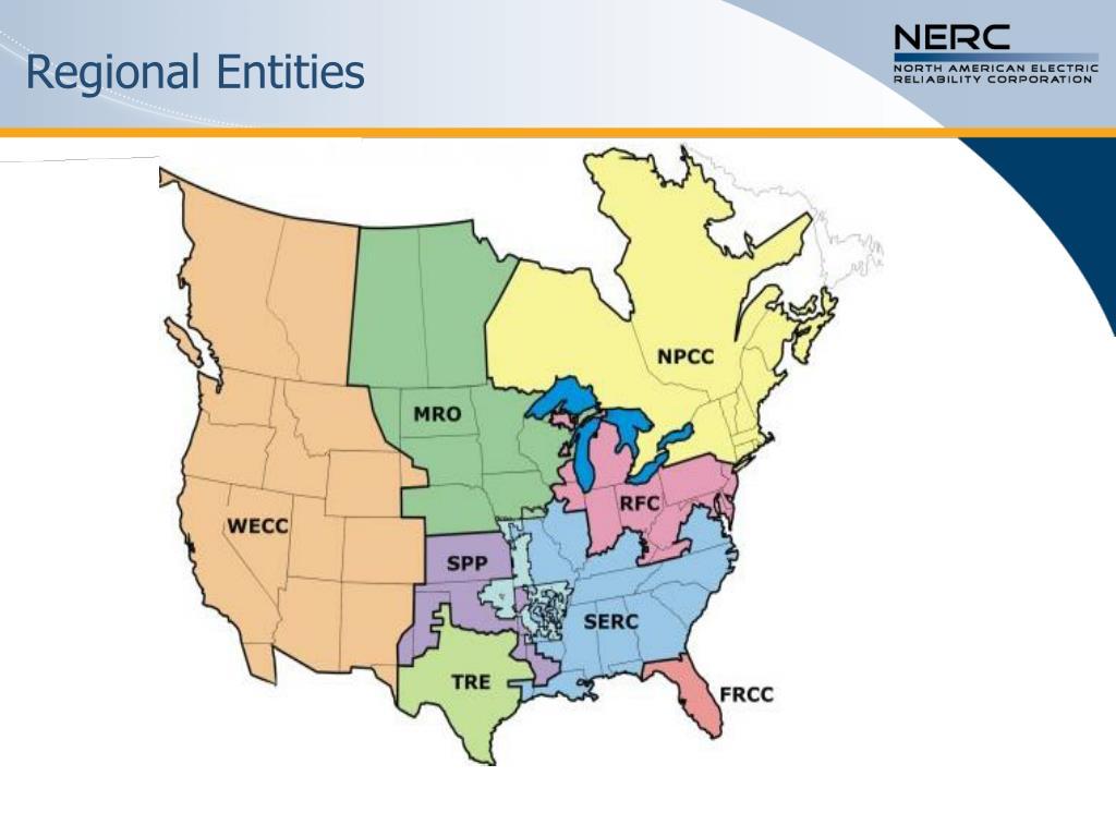 Regional Entities