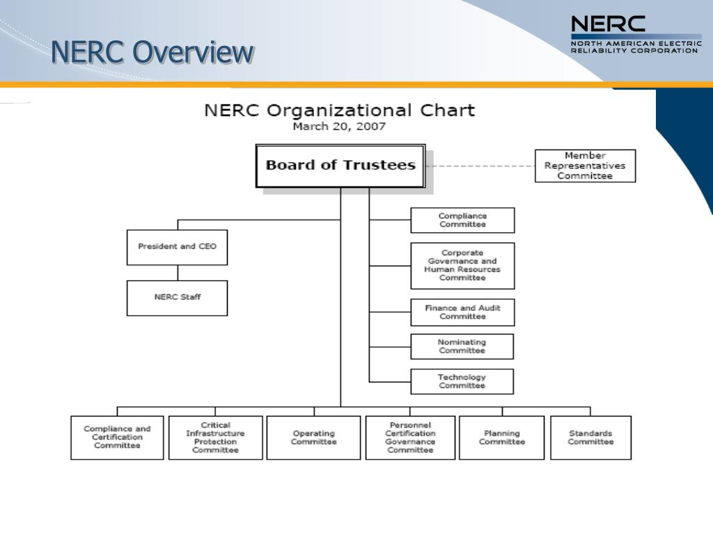 NERC Overview