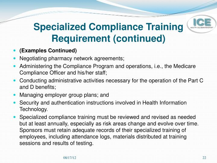 Ppt medicare compliance and fraud waste and abuse fwa training powerpoint presentation id - Compliance officer certification programs ...