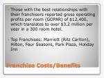 franchise costs benefits1
