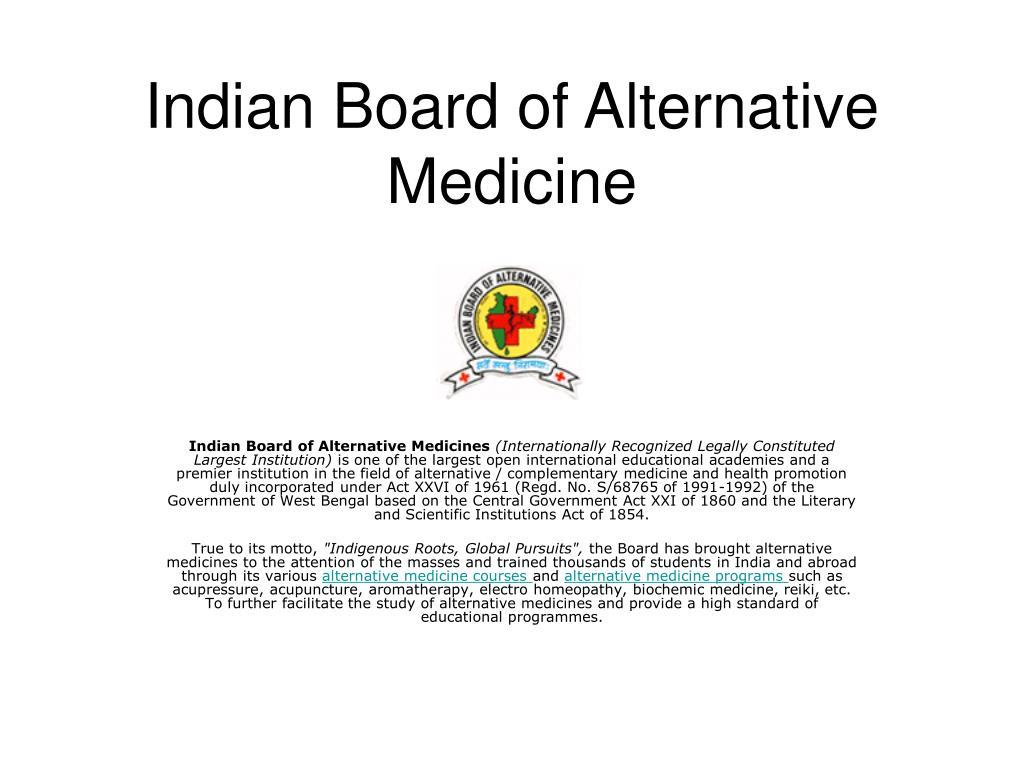 Indian Board of Alternative Medicine