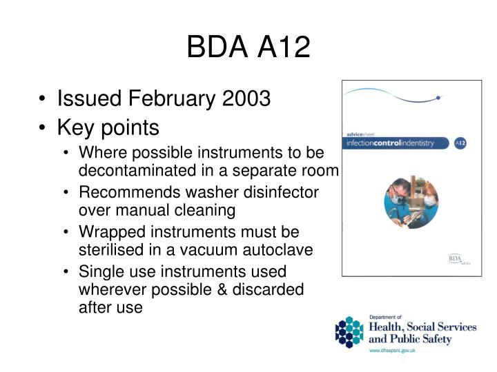 BDA A12