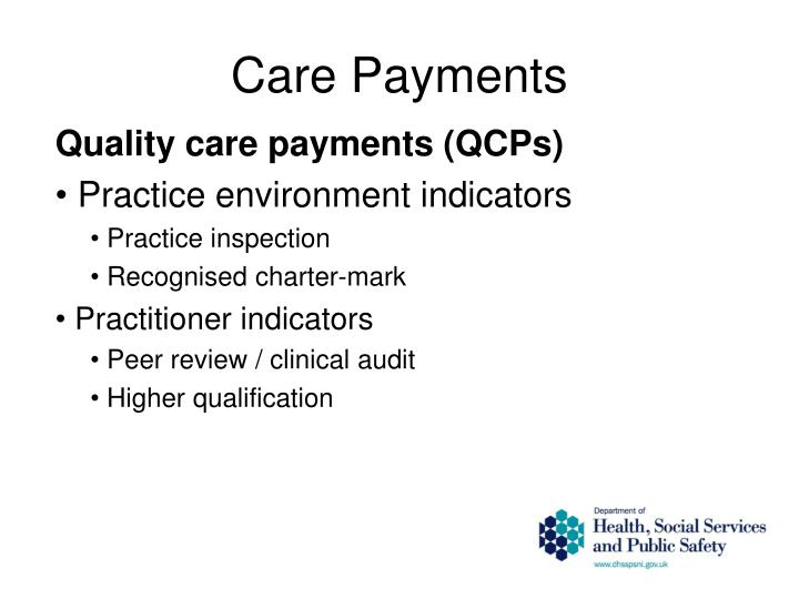 Care Payments
