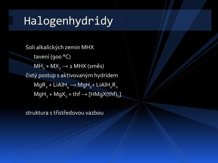 Halogenhydridy