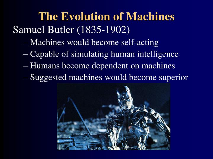The Evolution of Machines