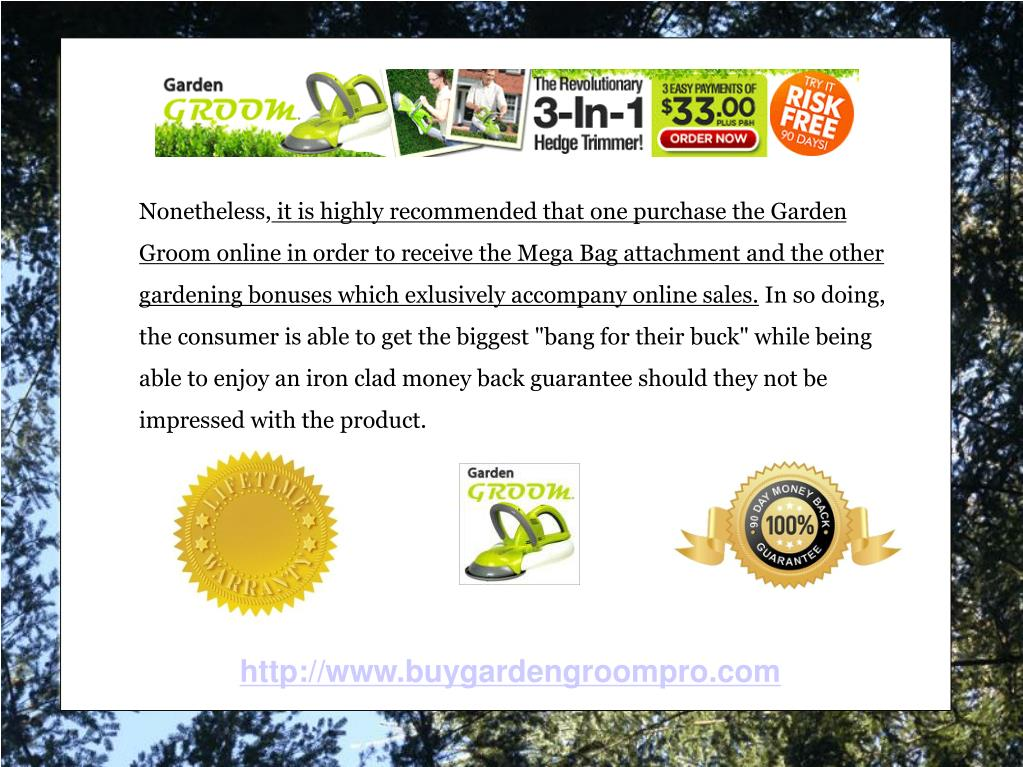 Garden Groom Pro | The Ultimate Hedge Trimming Tool