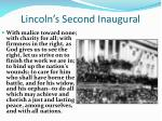 lincoln s second inaugural