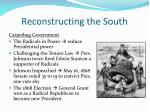 reconstructing the south3