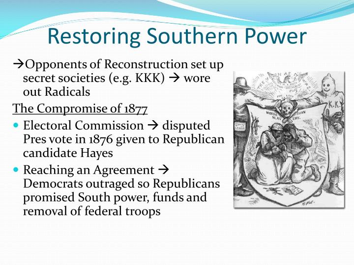 Restoring Southern Power