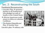 sec 2 reconstructing the south