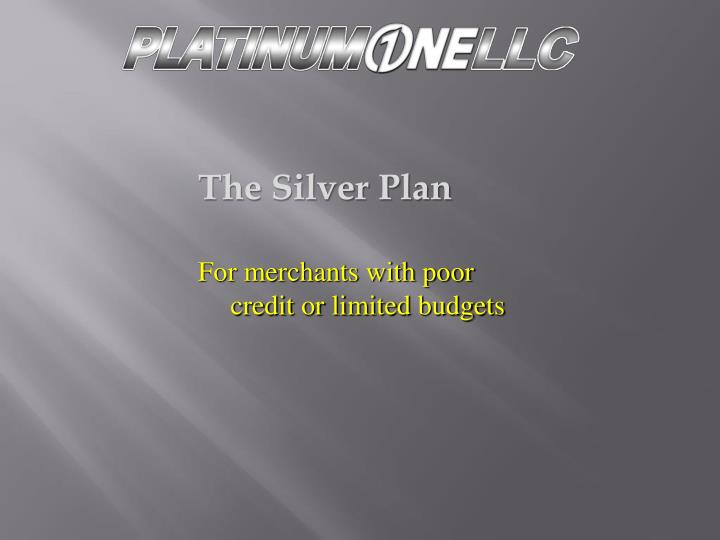 The Silver Plan