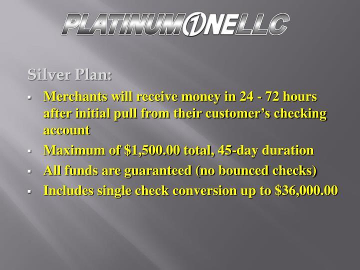 Silver Plan: