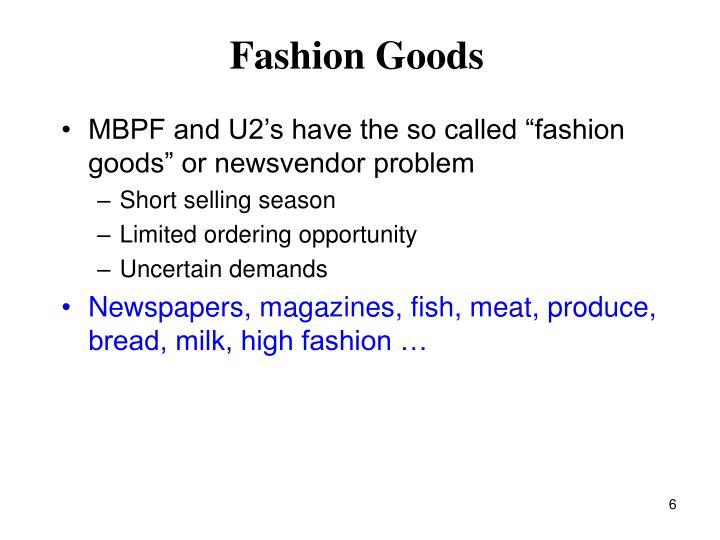 Fashion Goods
