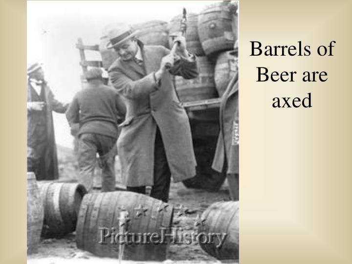 Barrels of
