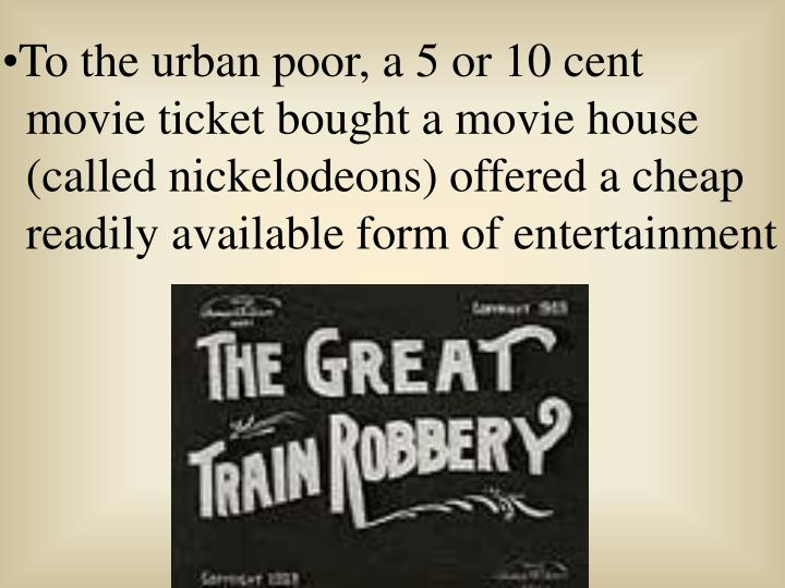 To the urban poor, a 5 or 10 cent
