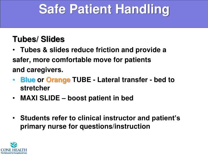 Tubes/ Slides