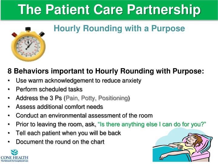 The Patient Care Partnership
