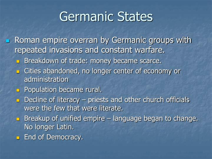 Germanic States