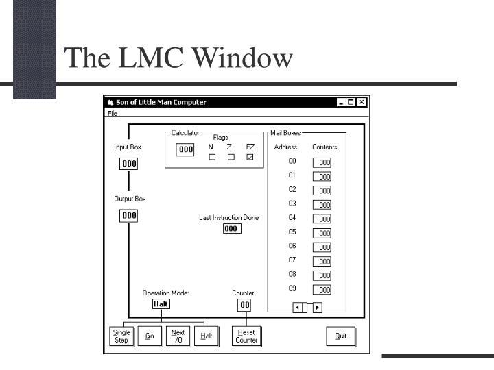 The LMC Window