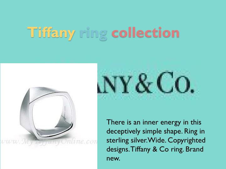 Tiffany ring collection2